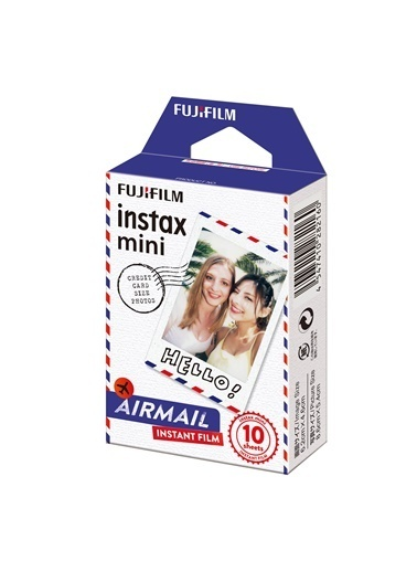 Fujifilm Instax Mini Air Mail 10'lu Film Renkli